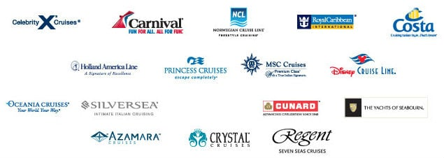 Which Cruise Line Is Best For Me Lets Dig In To The Differences - Cruise ship logos