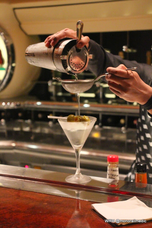 fancy martini making on DCL