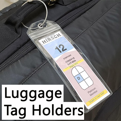 cruise luggage tag holders