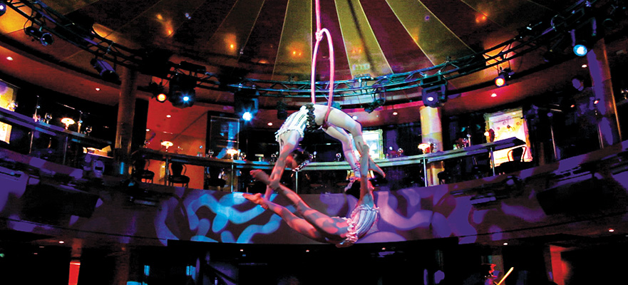 Cirque Dreams Epicurean