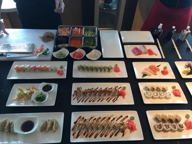 Celebrity Infinity Sushi on 5