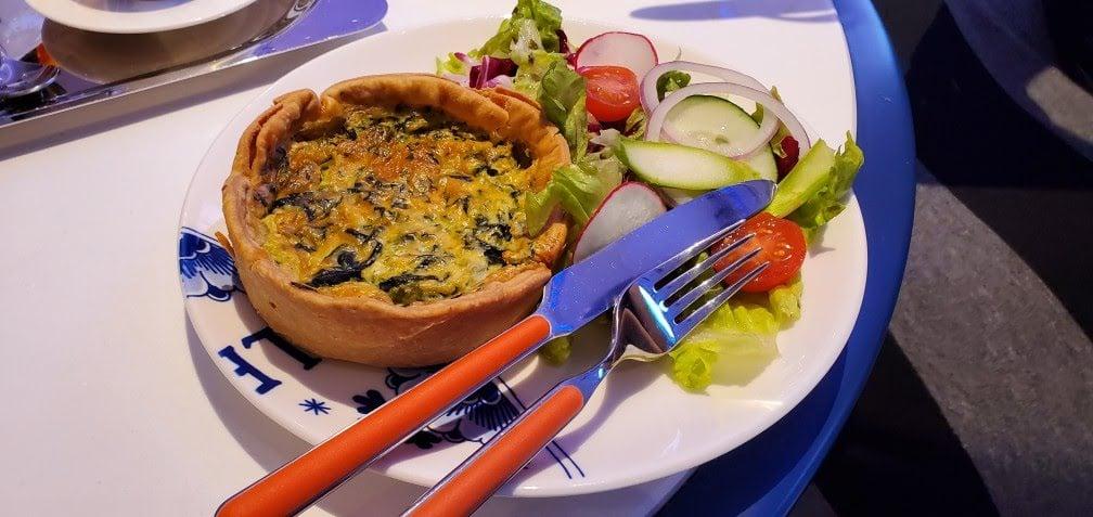 Gruyere Tart in Grand Dutch Cafe
