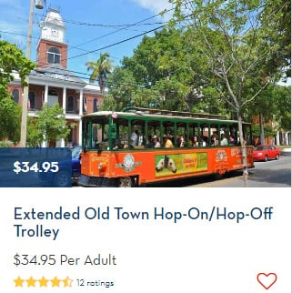 Old Town Trolley Key West - Booked Through Holland America
