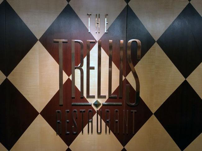 Trellis Restaurant on Celebrity Infinity
