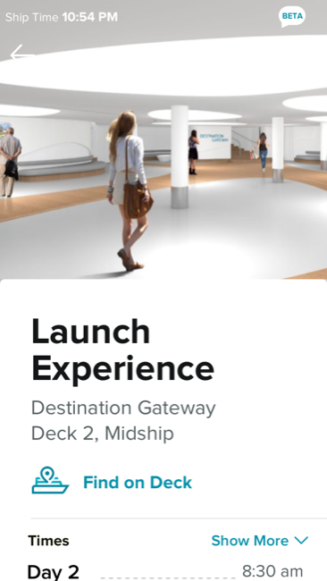 Celebrity Edge Launch Experience