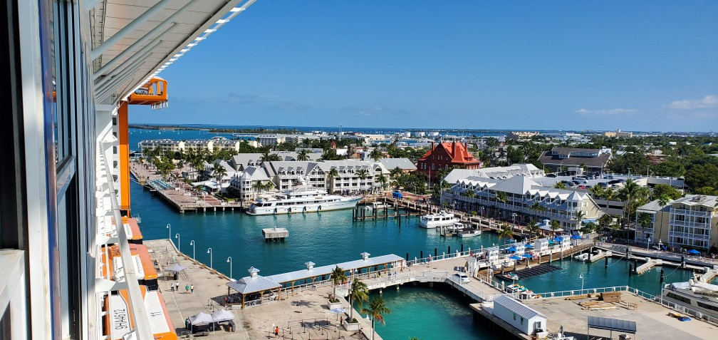 Key West as Seen from Celebrity Edge