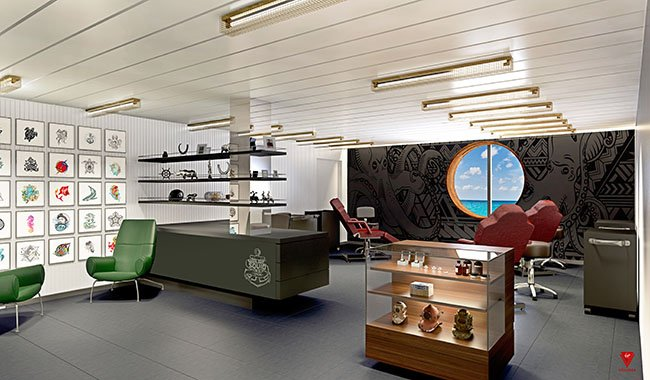Squid Ink on Virgin Voyages' Scarlet Lady