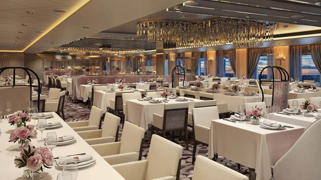 Normandie French Restaurant on Celebrity Edge