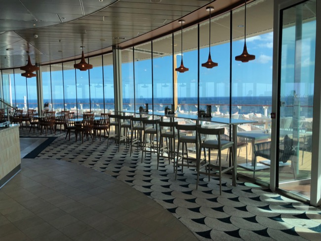 Celebrity Edge Oceanview Cafe buffet
