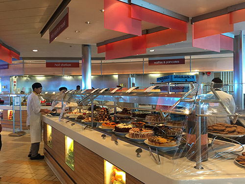 Oceanview cafe Celebrity Reflection