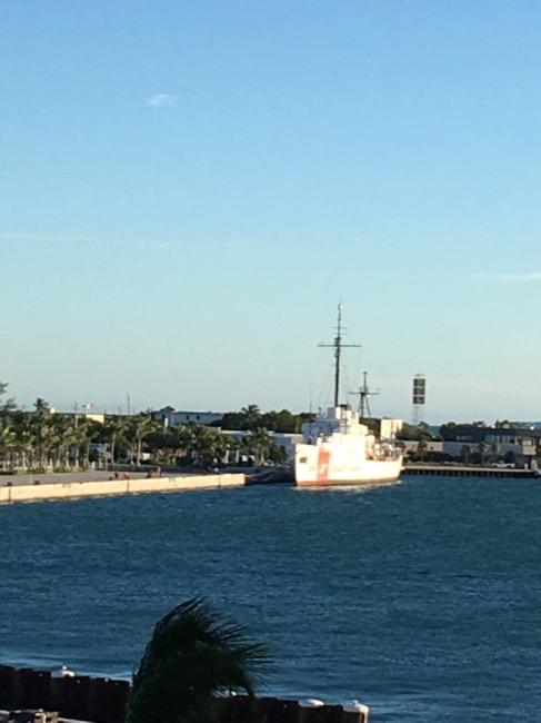 Celebrity Infinity Key West Coast Guard Ship