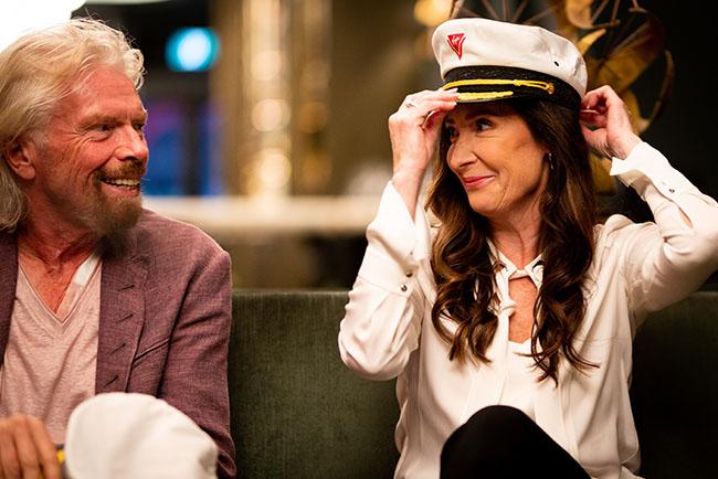 Captain Wendy Williams, Master, Virgin Voyages' Scarlet Lady