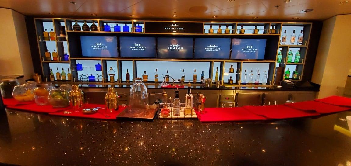 The World Class Bar on Celebrity Equinox