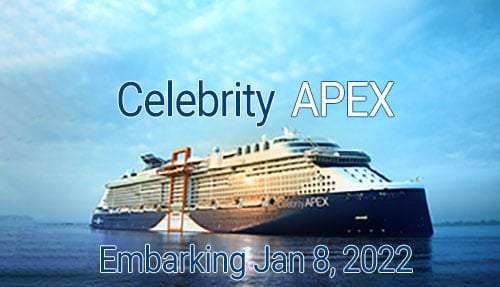Celebrity Apex Group Cruise January 8 2022