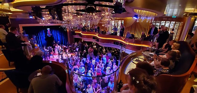 BB King All Stars - Very Popular on Holland America Ships. Will guests still pack in like this?