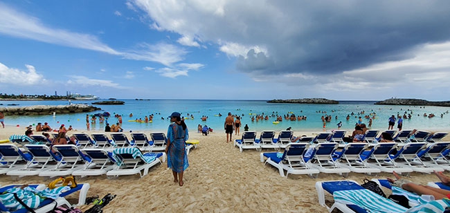 One of the Beaches at Great Stirrup Cay