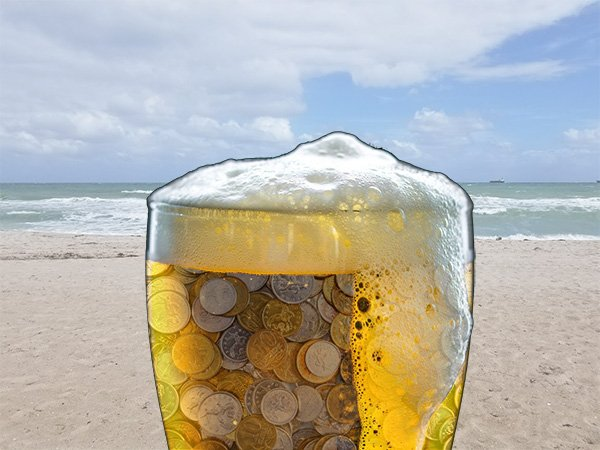 How much is beer on a cruise ship?