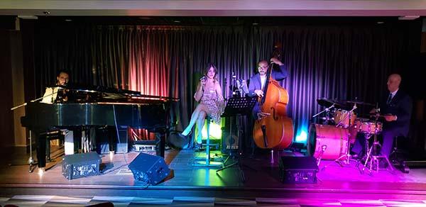 Bourbon Quartet in Seaview Lounge on MSC Seaside