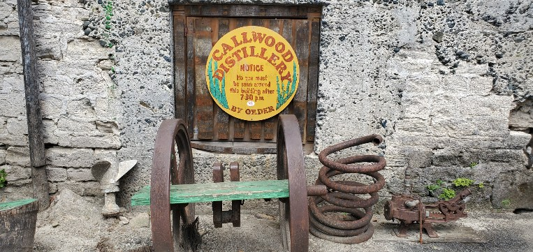 Callwood Rum Distillery in Tortola BVI