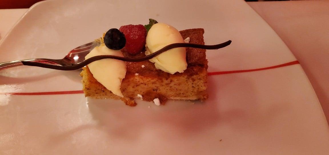 Dessert at Canaletto on Nieuw Statendam