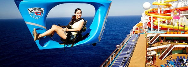 Carnival Vista's SkyRide