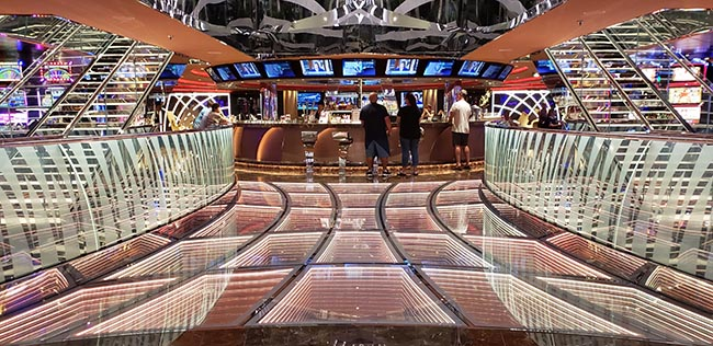 MSC Seaside Casino Bar