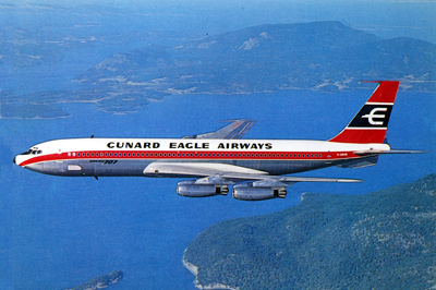 Cunard Eagle Airways - photo CunardQueens.com