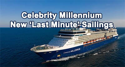 Celebrity Millennium Adds AK and PNW Sailings