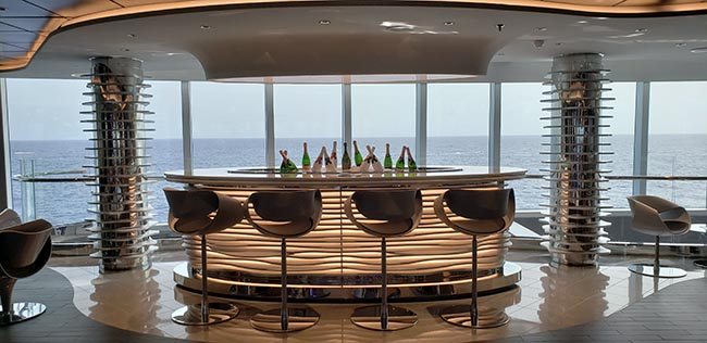 Champagne Bar MSC Seaside