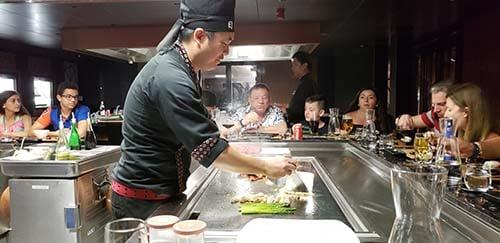 Chef Joseph in Teppanyaki Restaurant by Roy Yamaguchi