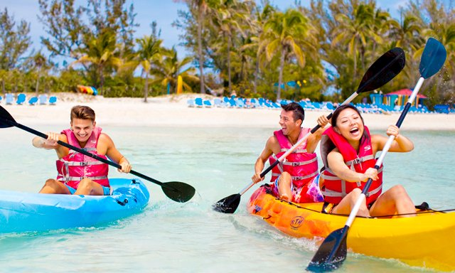 Royal Caribbean Coco Cay Kayak Adventure tour