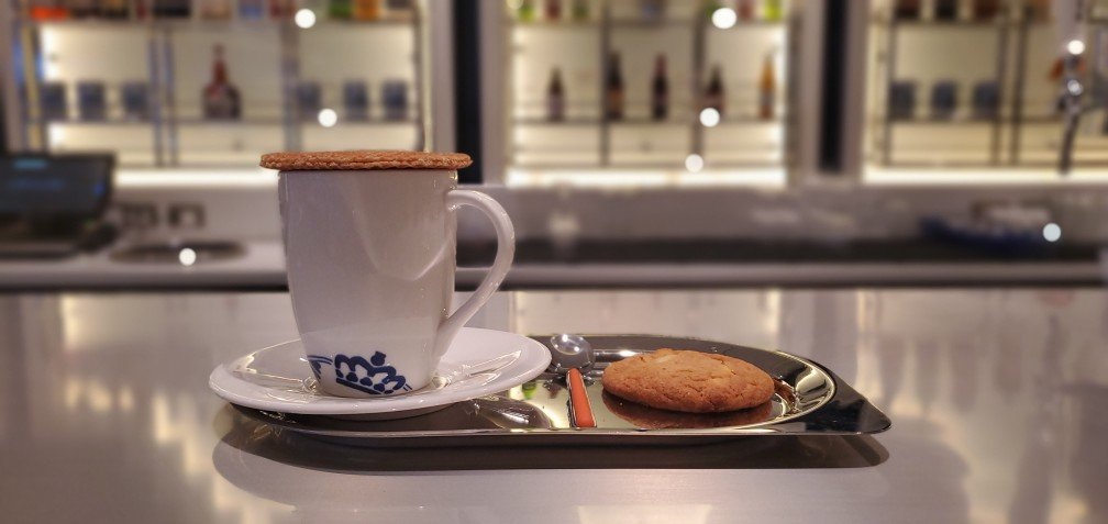 Coffee, Stroopwafel, and a Cookie at Grand Dutch Cafe on Nieuw Statendam