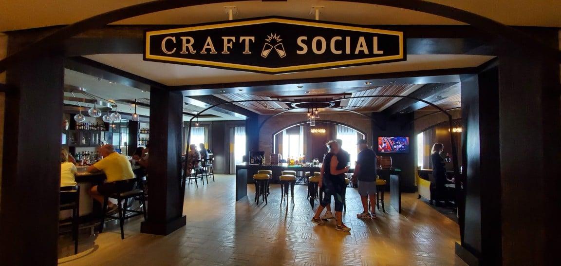 Craft Social - a Pub on Celebrity Equinox