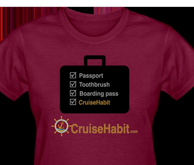 Cruise Checklist Shirt