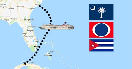 Carnival Splendor to Sail from Charleston to Havana Cuba