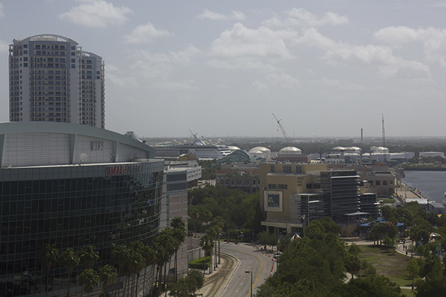 Empress of the Seas as seen from the Tampa Marriott Waterside