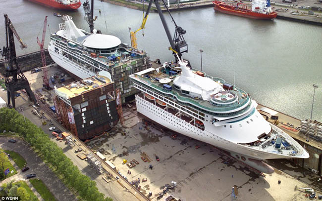 enchantment of the seas being extended