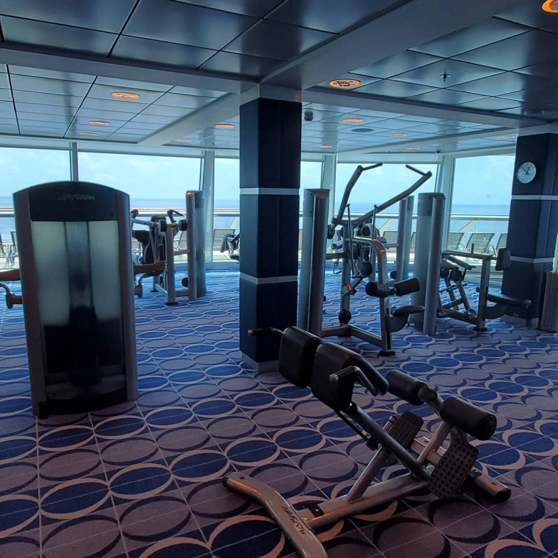 The Gym on Celebrity Equinox