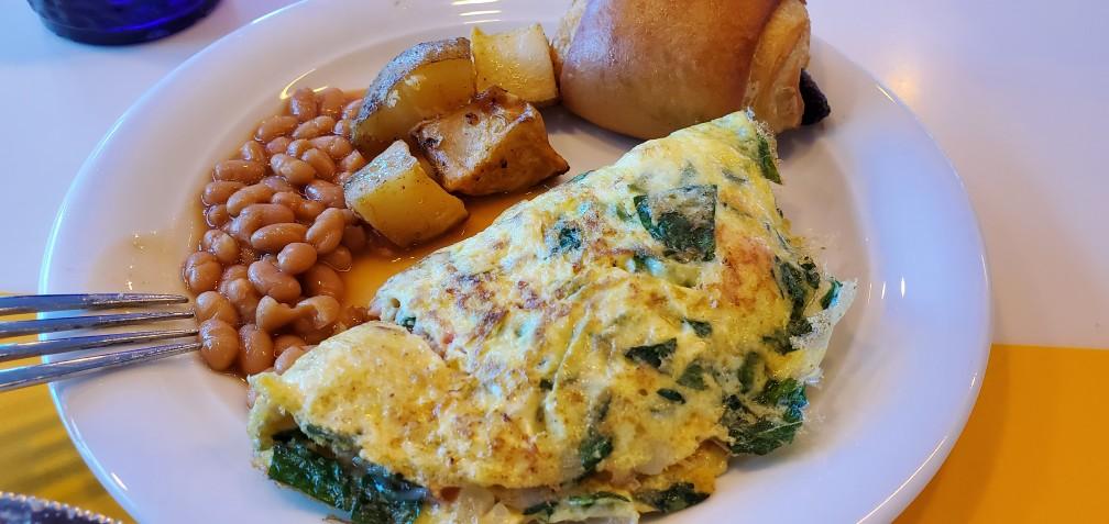 Breakfast in Oceanview Cafe