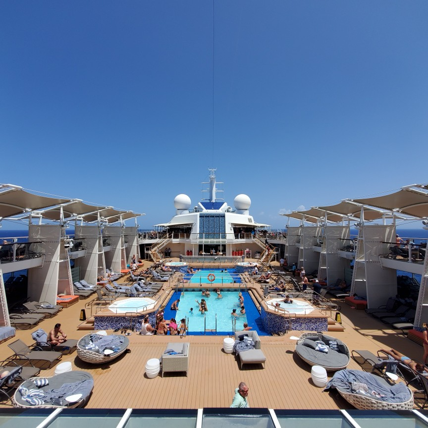 Pool Deck on Celebrity Equinox