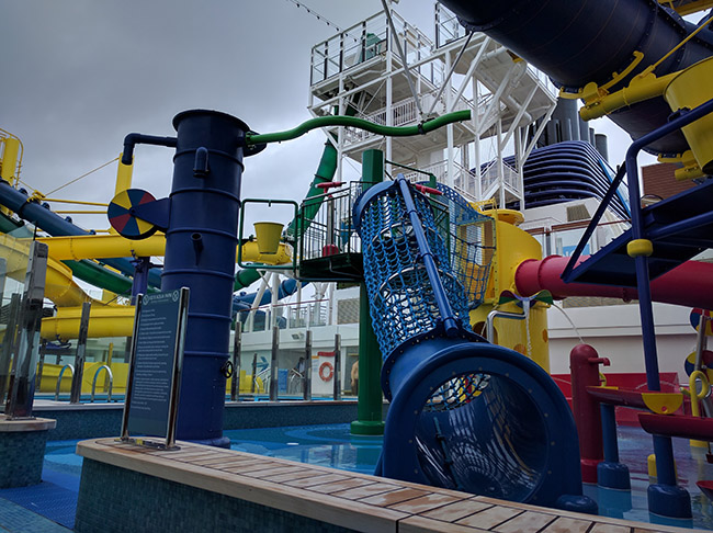 Escape Offers Waterslides For More Junior Cruisers Too