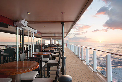The Waterfront on Norwegian Escape