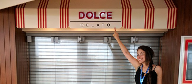 Dolce Gelato on Norwegian Escape