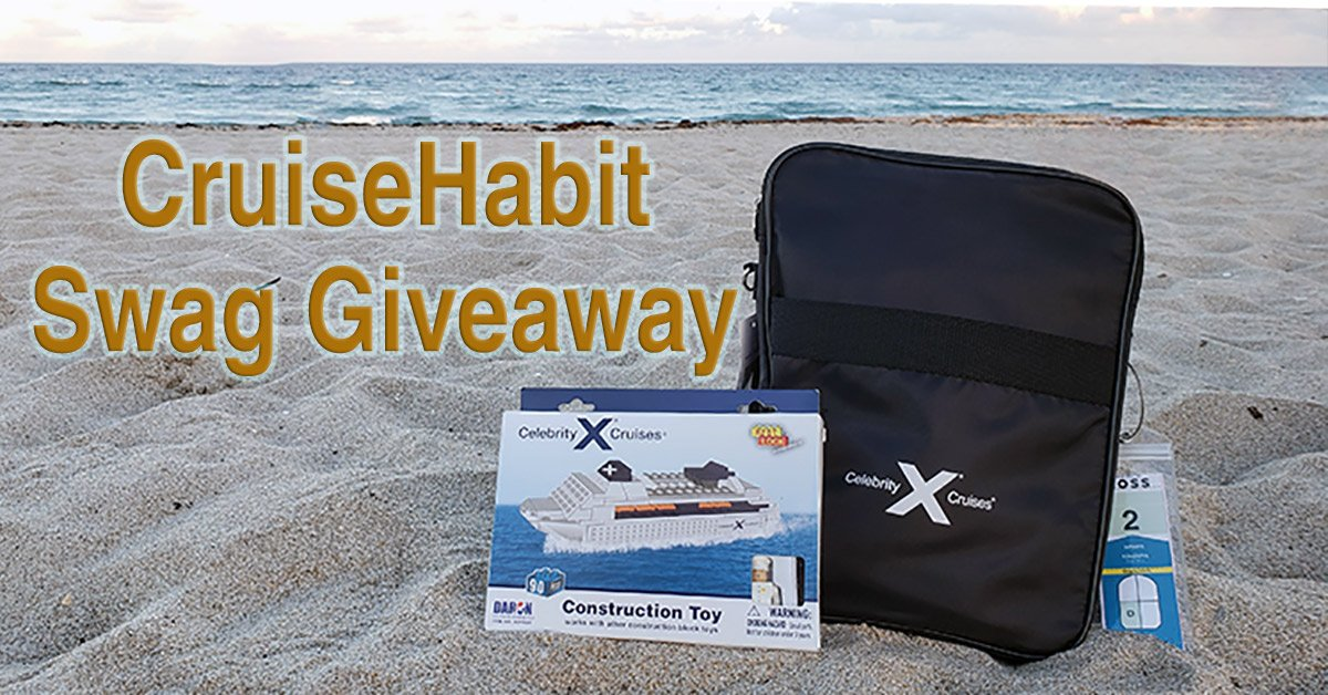 Celebrity Cruise Swag Giveaway