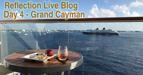 Celebrity Reflection live Blog Day 4 Grand Cayman