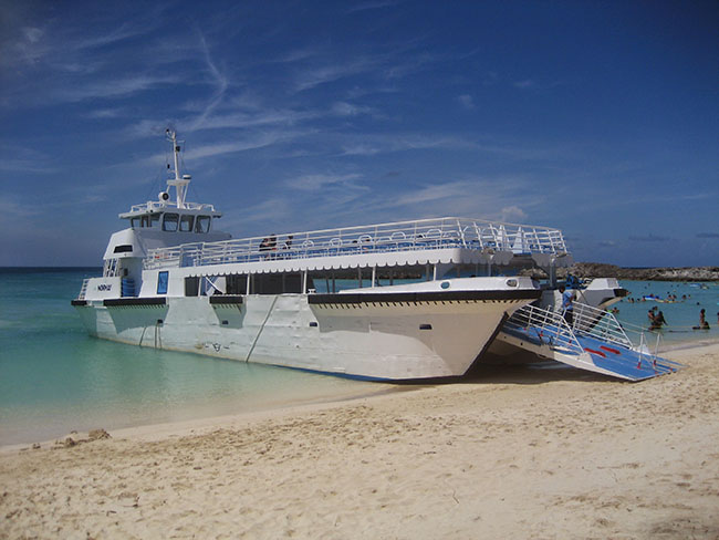 Great Stirrup Cay Tender Operations in 2008