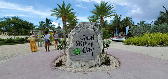 Welcome to Great Stirrup Cay, NCL's Private Island