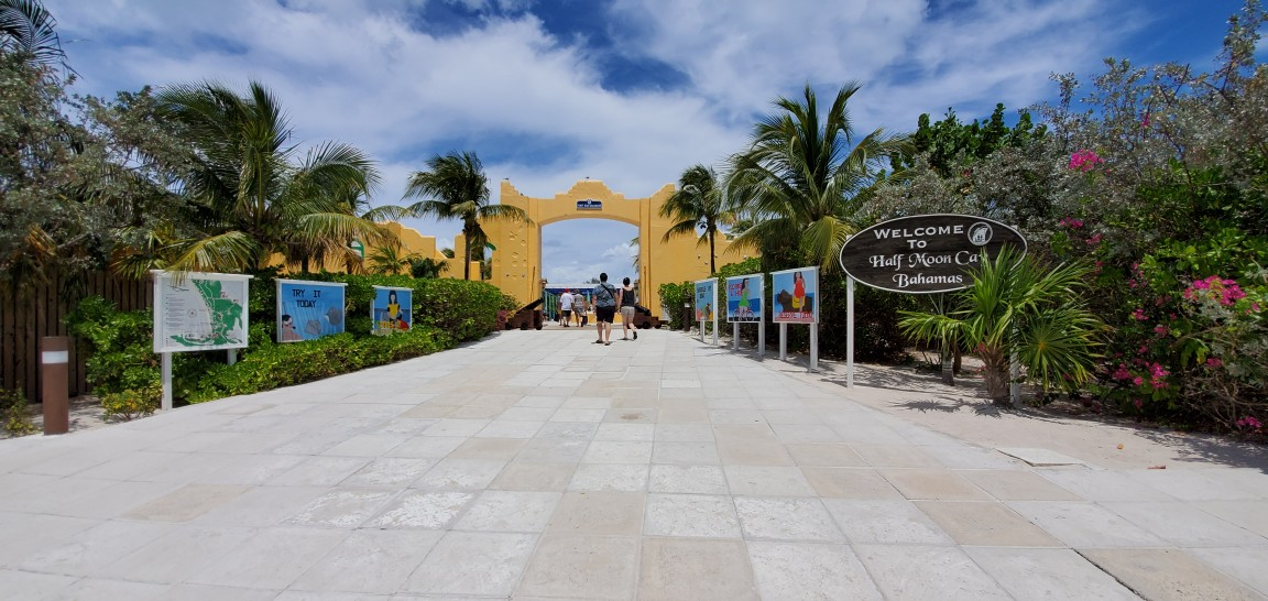 Welcome to Half Moon Cay