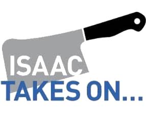 Isaac Takes On -  Logo