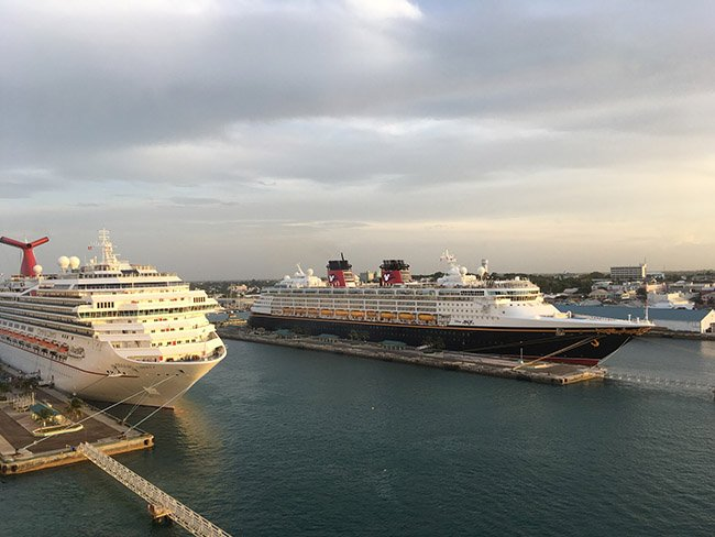 Disney Magic & Carnival Liberty in Nassau